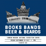 Books, Bands, Beer & Beards