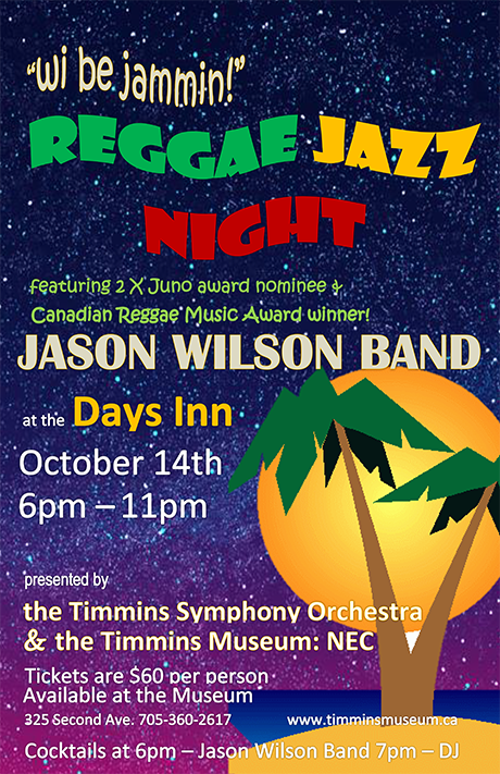 Reggae Jazz Night in Timmins